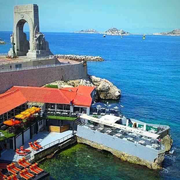 Le Bistrot Plage - Restaurant La Corniche Marseille